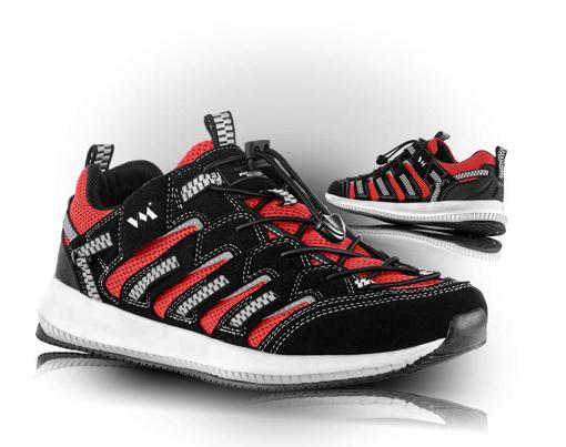 Obrázok z VM Footwear Lusaka 4445-35 Poltopánky červené