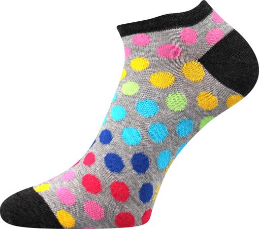 Obrázok z BOMA ponožky Piki 65 mix B/světle šedá melé 1 pár