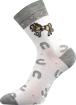Obrázok z BOMA ponožky Filip 03 ABS mix D - holka 3 pár