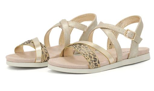 Obrázok z Sprox 529751 Detské sandále platina