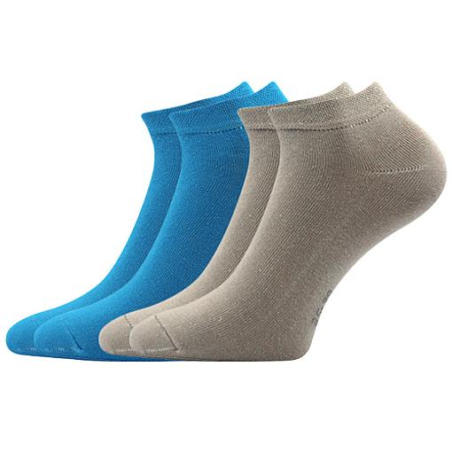 Obrázok z BOMA ponožky ČENĚK B 2pár mix / modrá + šedá 10 pack
