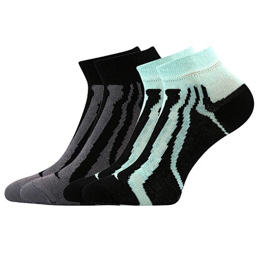 Obrázok z BOMA ponožky KIKI dět. 07 2pár mix / černá + mátová 10 pack