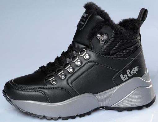 Obrázok z Lee Cooper LCJ-21-31-0618LB Dámska členková obuv čierna