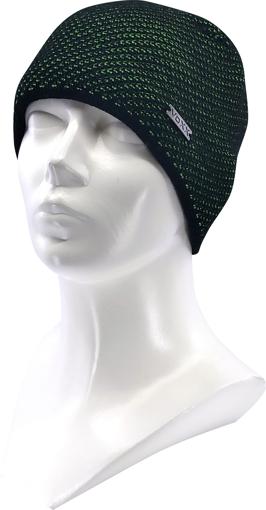 Obrázok z VOXX čepice Swift dětská černá / zelená 1 ks