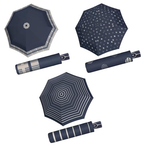 Obrázok z Doppler Magic Fiber TIMELESS Dámsky skladací plne automatický dáždnik