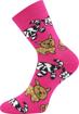 Obrázok z BOMA ponožky Sibiř dětská 07 mix B - holka 3 pár