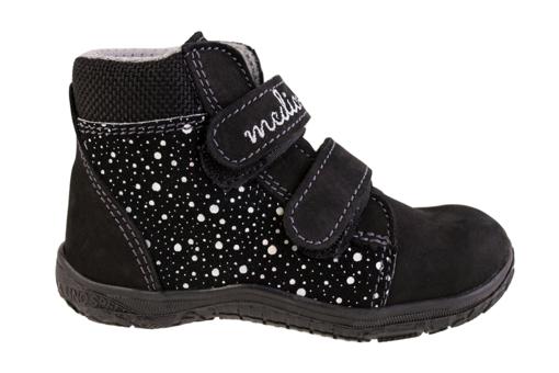 Obrázok z Medico EX5002-M195 Detské členkové topánky čierne