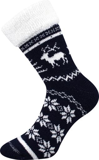 Obrázok z BOMA ponožky Norway tmavě modrá 1 pár